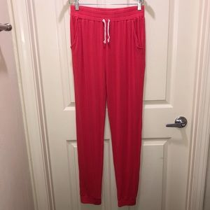 Old Navy Coral (reddish-pink) Joggers